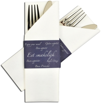 Besteck- bzw. Serviettentasche Napkin Sleeve blue
